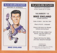 Blackburn Rovers Mike England Wales 14 (B)